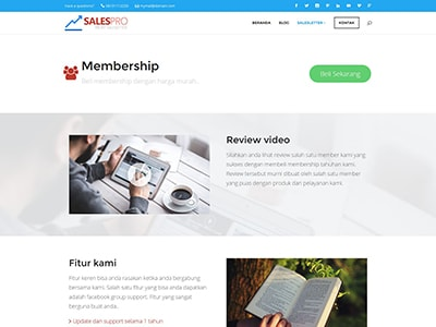 jualan membership