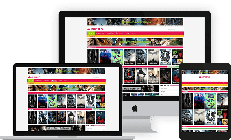 Movie WordPress Theme 2017