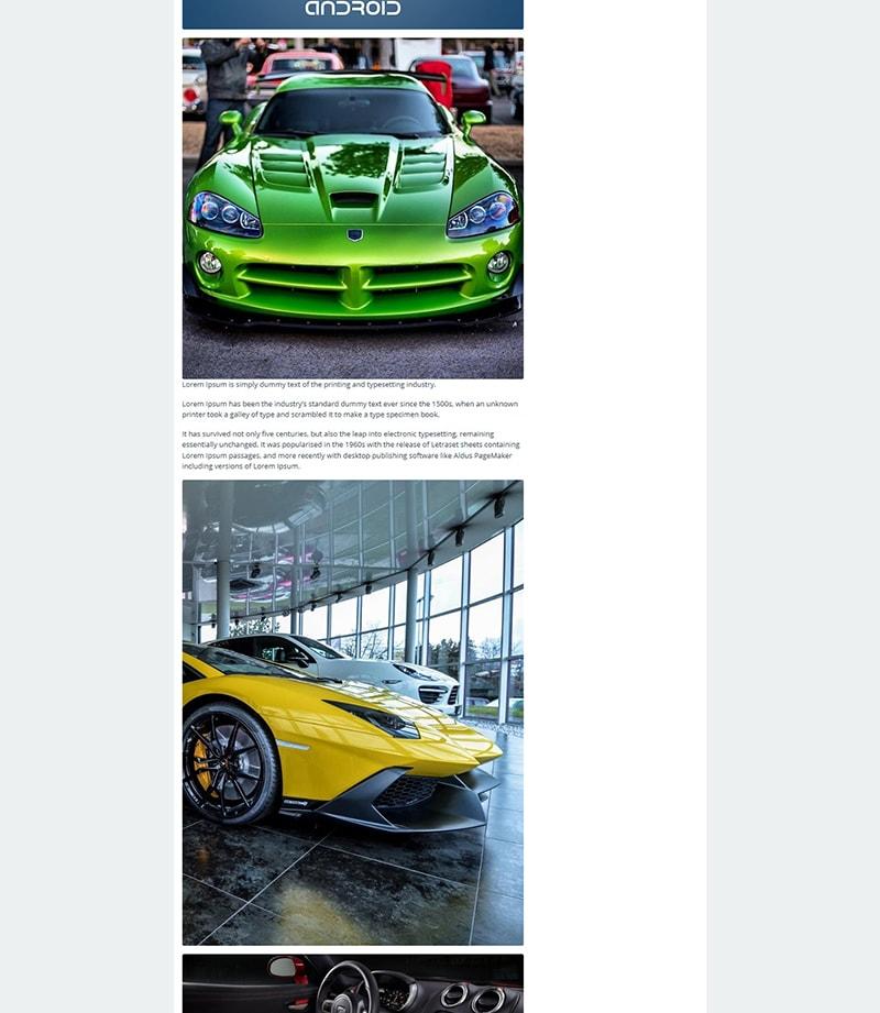 big image layout galepro