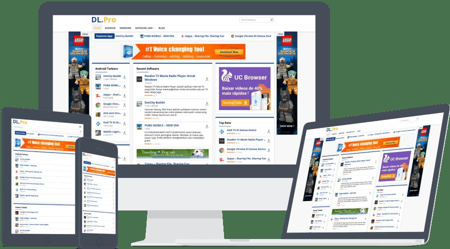 Download DlPro WordPress Theme dari IDTheme